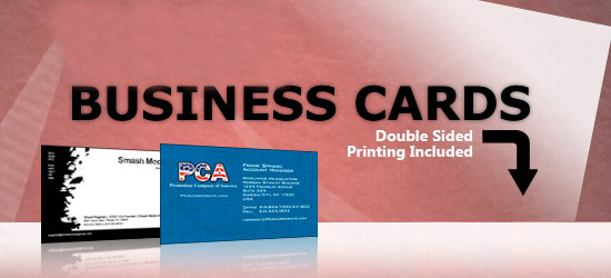 Business Cards from Fast Color Printer Full Color